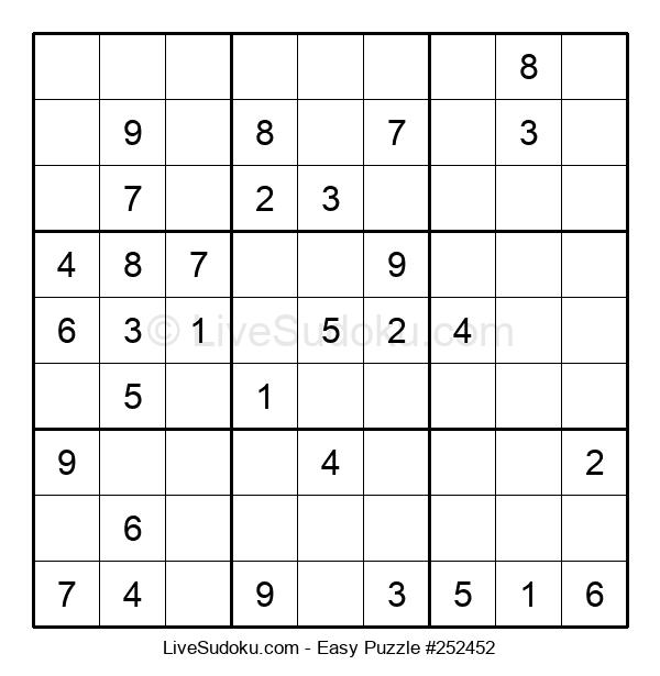 Beginners Puzzle #252452