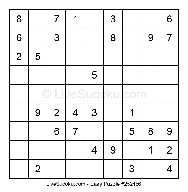 Beginners Puzzle #252456