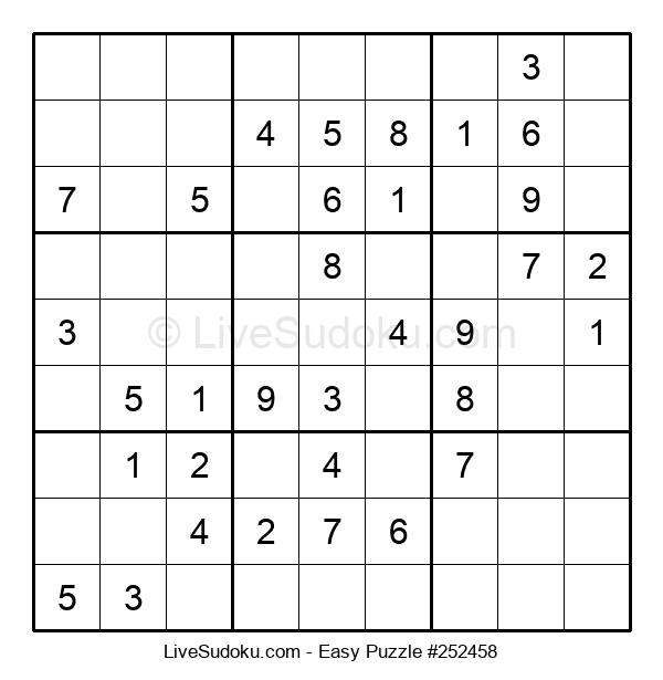 Beginners Puzzle #252458