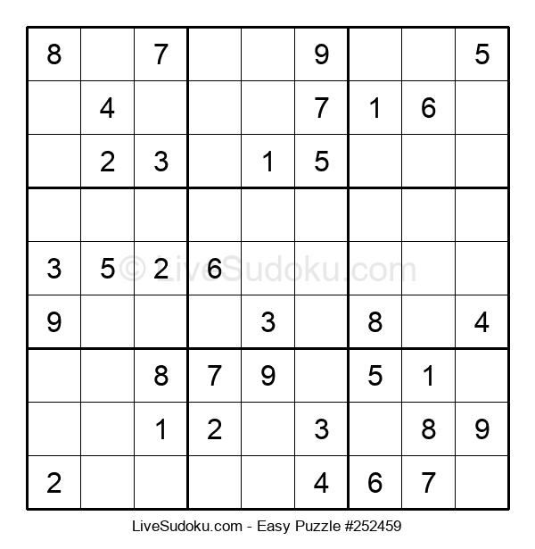Beginners Puzzle #252459