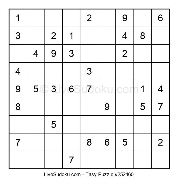 Beginners Puzzle #252460