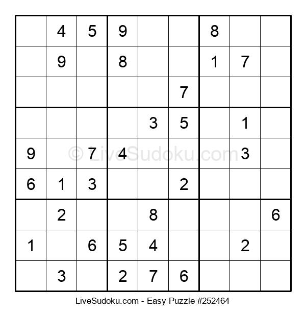 Beginners Puzzle #252464