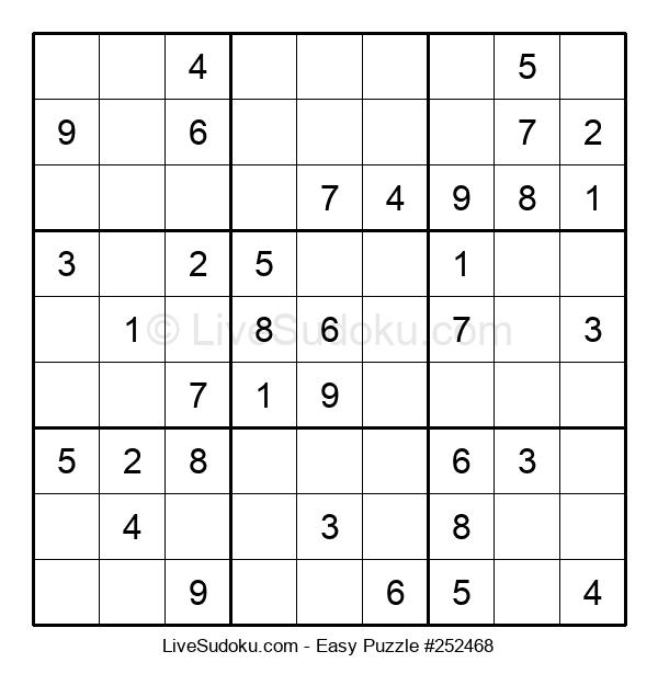 Beginners Puzzle #252468
