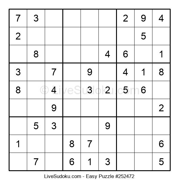 Beginners Puzzle #252472