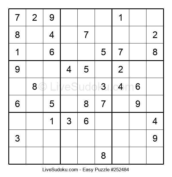 Beginners Puzzle #252484