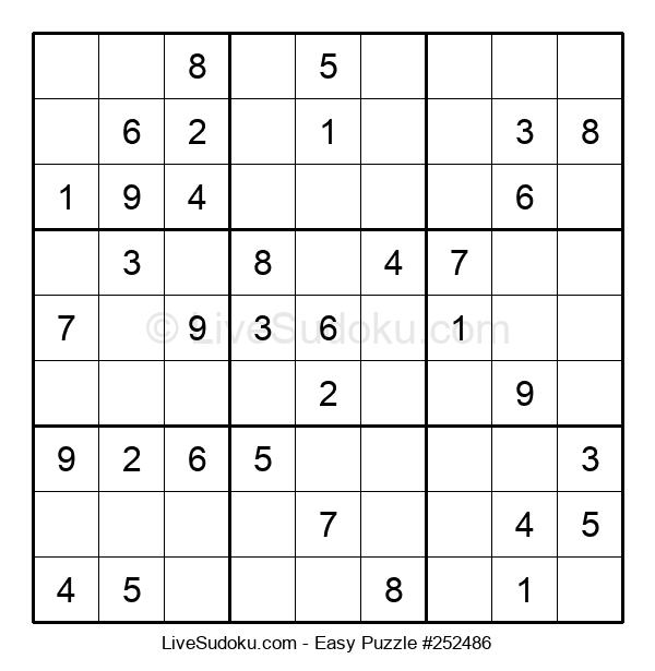 Beginners Puzzle #252486