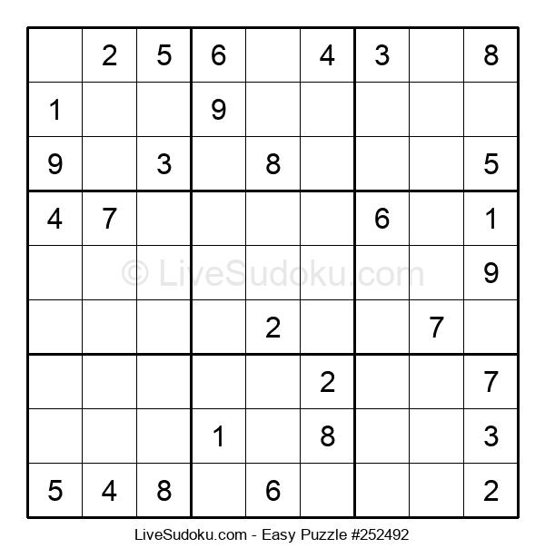 Beginners Puzzle #252492
