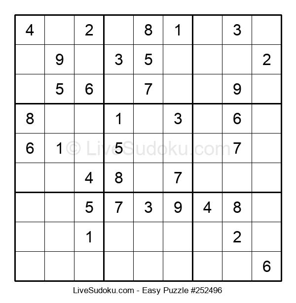 Beginners Puzzle #252496