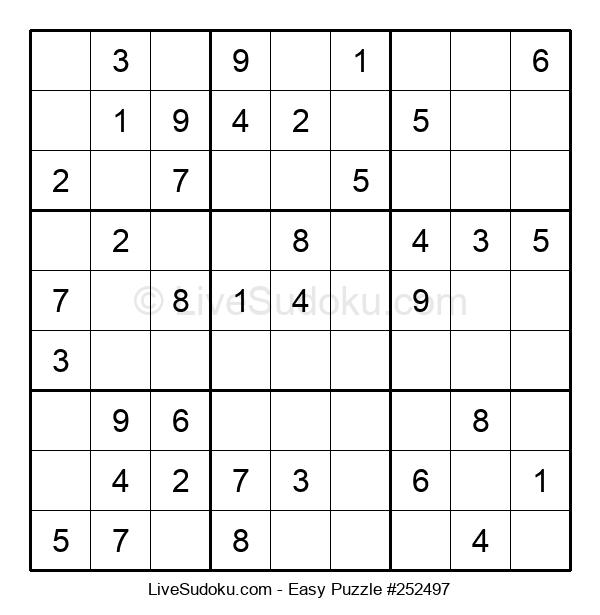 Beginners Puzzle #252497
