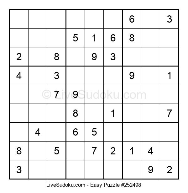 Beginners Puzzle #252498