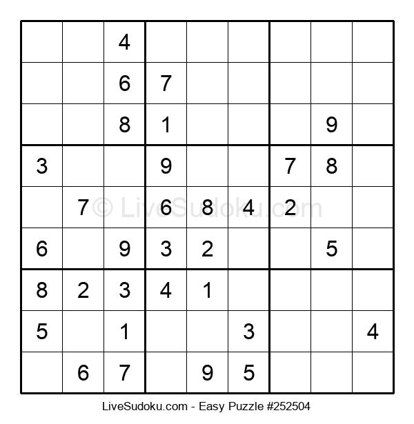 Beginners Puzzle #252504