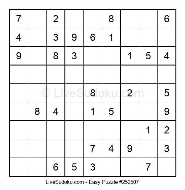 Beginners Puzzle #252507
