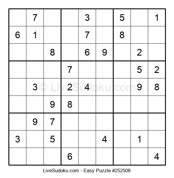 Beginners Puzzle #252508