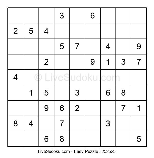 Beginners Puzzle #252523