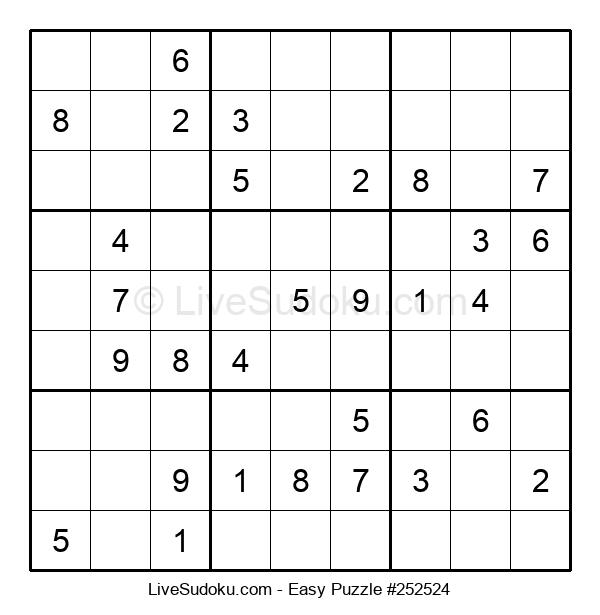 Beginners Puzzle #252524
