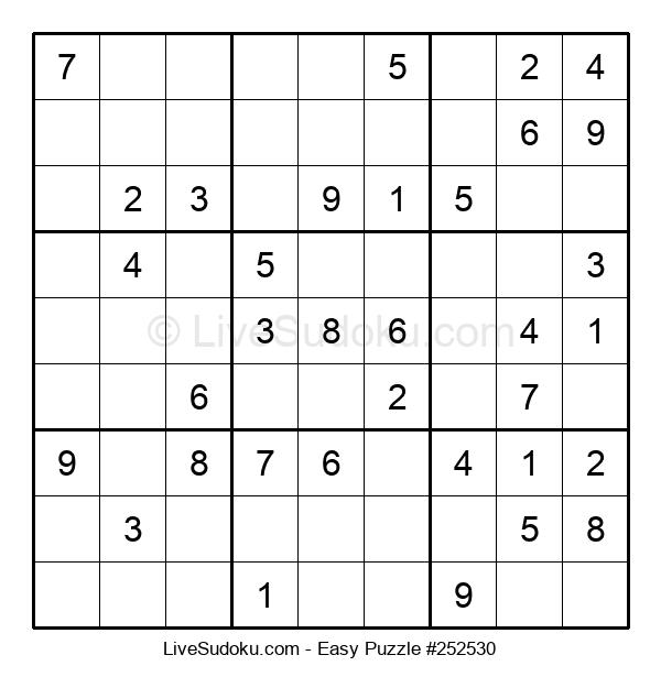 Beginners Puzzle #252530