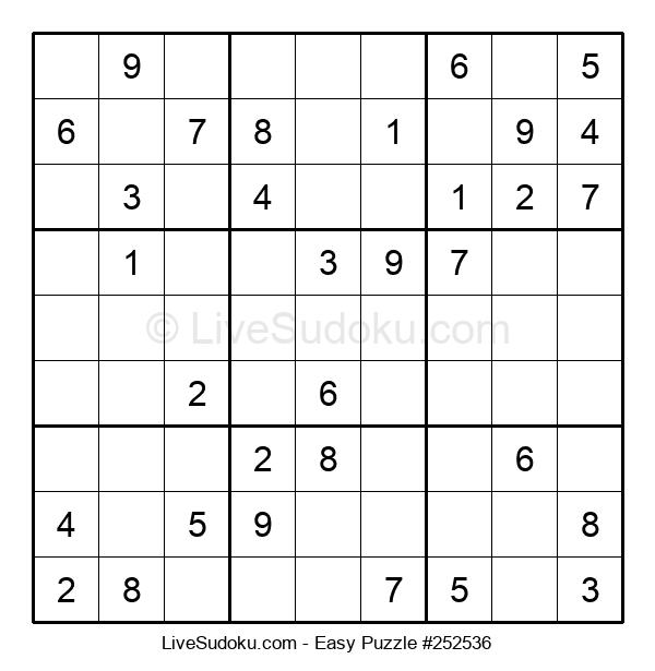 Beginners Puzzle #252536