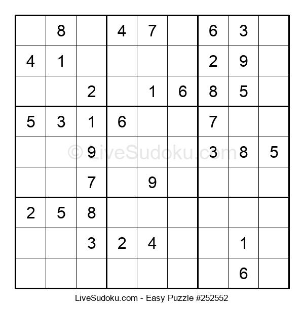 Beginners Puzzle #252552