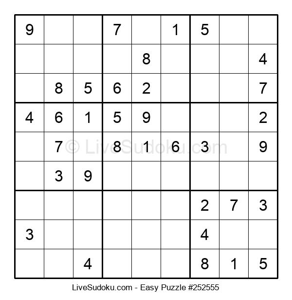 Beginners Puzzle #252555