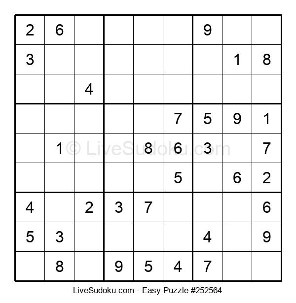 Beginners Puzzle #252564