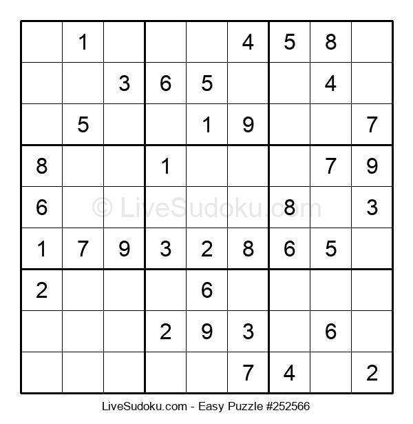 Beginners Puzzle #252566