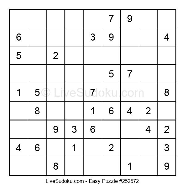 Beginners Puzzle #252572