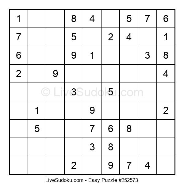 Beginners Puzzle #252573