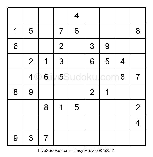Beginners Puzzle #252581