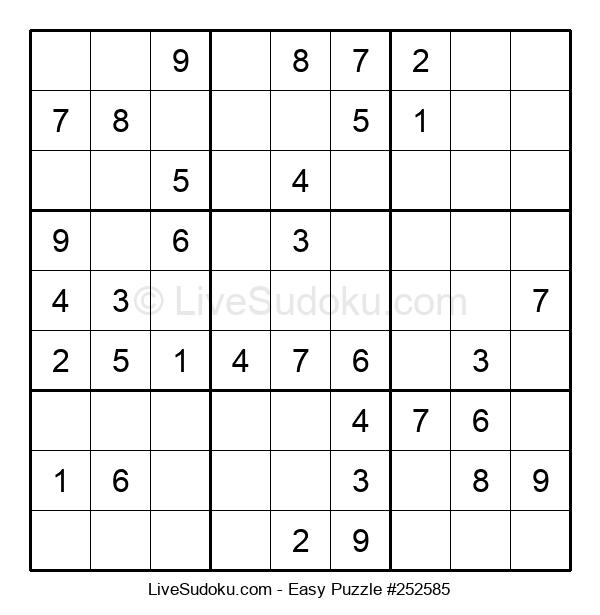 Beginners Puzzle #252585