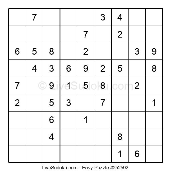 Beginners Puzzle #252592