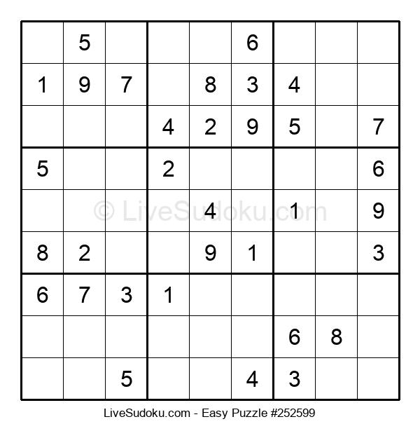 Beginners Puzzle #252599