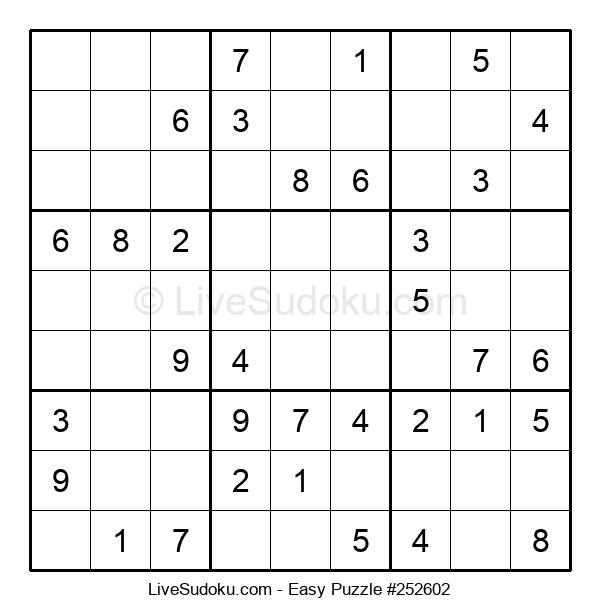 Beginners Puzzle #252602