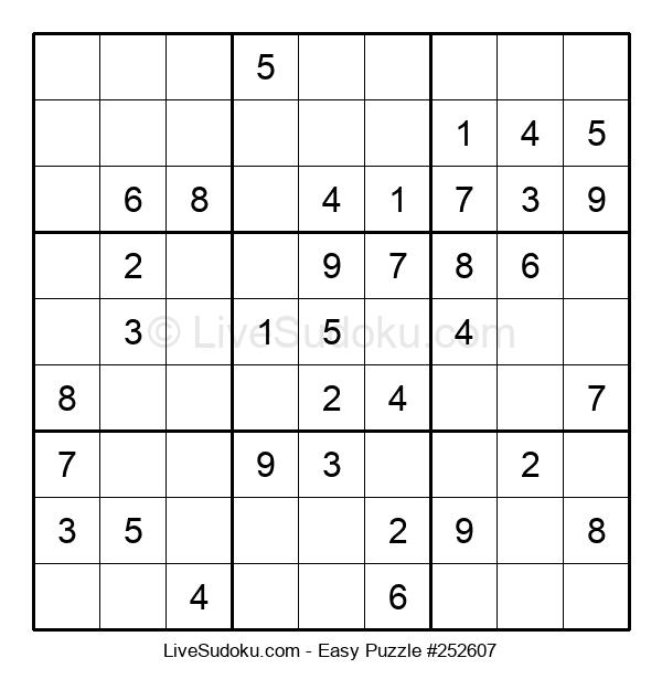 Beginners Puzzle #252607