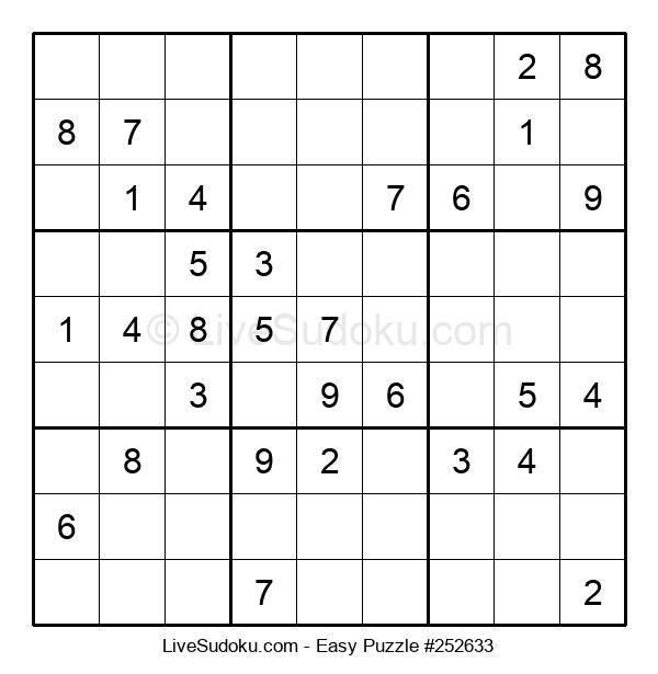 Beginners Puzzle #252633