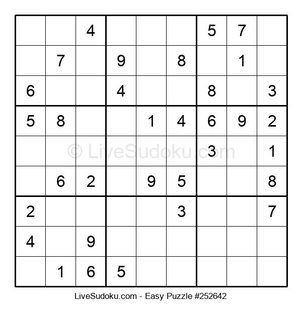 Beginners Puzzle #252642