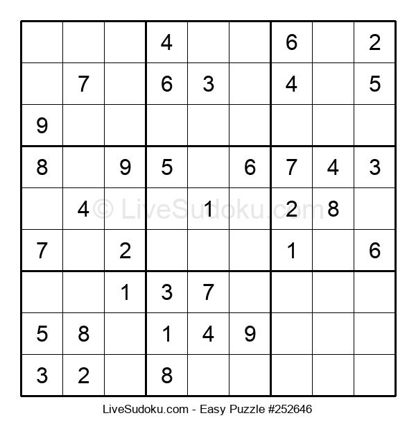 Beginners Puzzle #252646