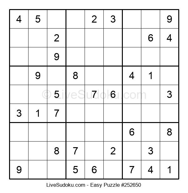 Beginners Puzzle #252650
