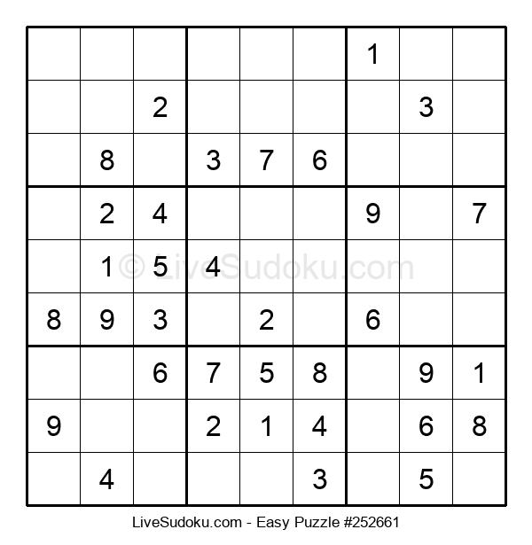 Beginners Puzzle #252661