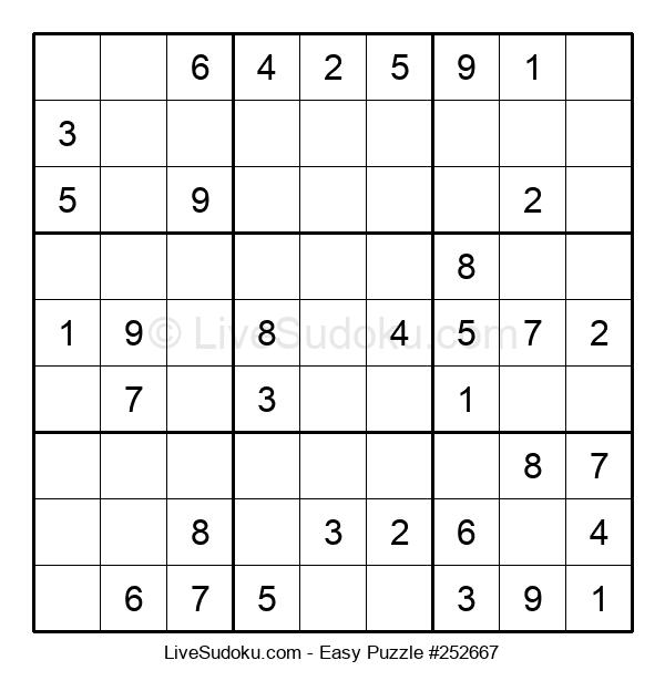 Beginners Puzzle #252667