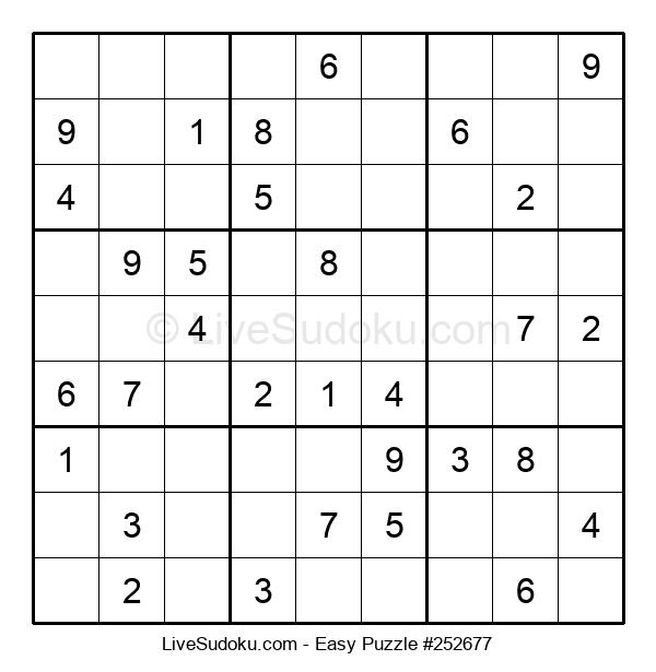 Beginners Puzzle #252677