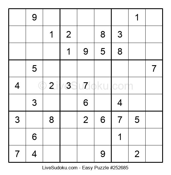 Beginners Puzzle #252685