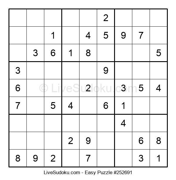 Beginners Puzzle #252691