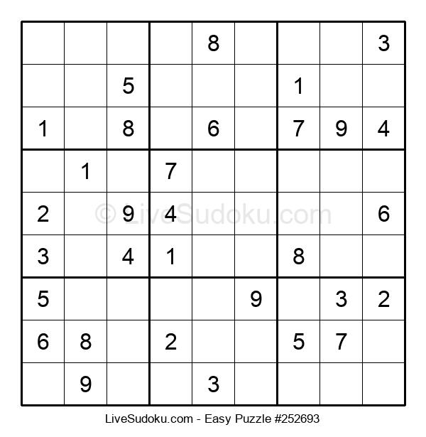 Beginners Puzzle #252693