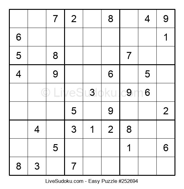 Beginners Puzzle #252694