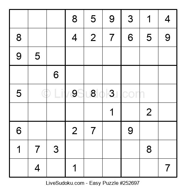 Beginners Puzzle #252697