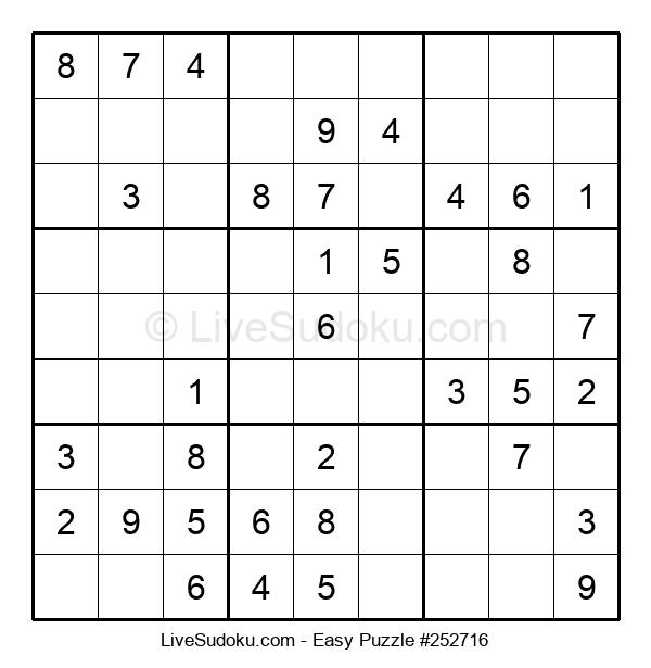 Beginners Puzzle #252716