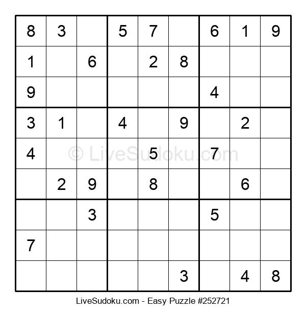 Beginners Puzzle #252721