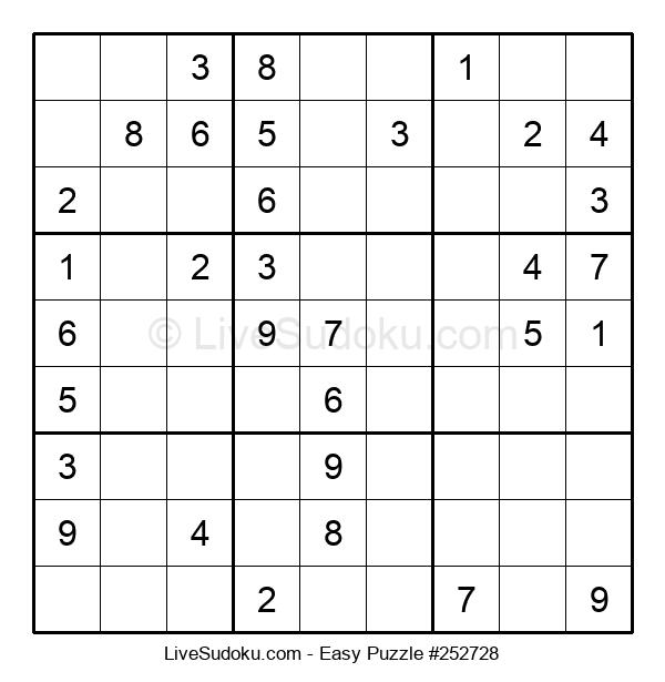 Beginners Puzzle #252728