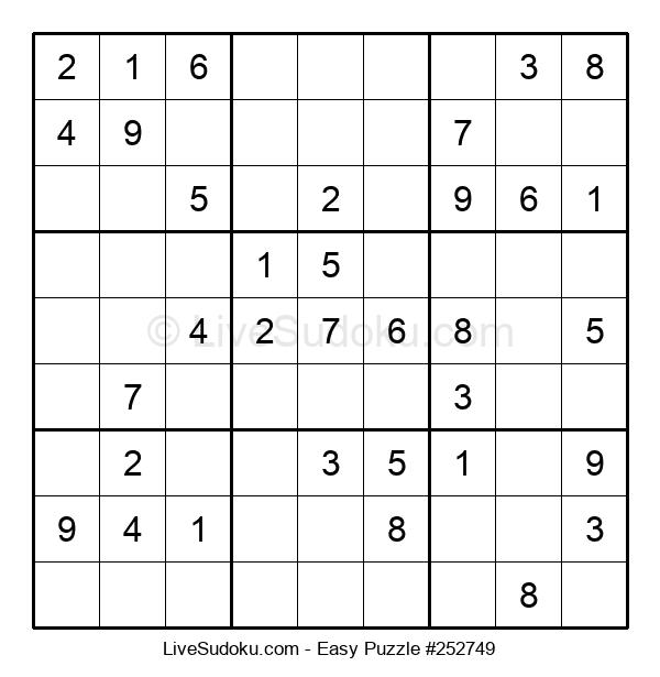 Beginners Puzzle #252749