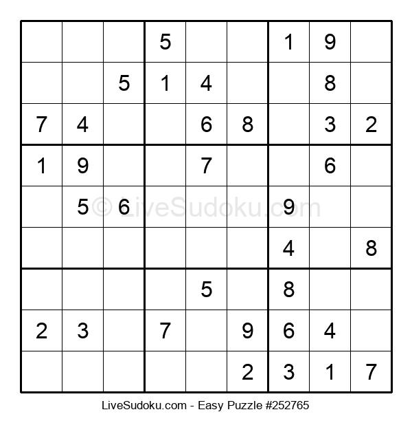 Beginners Puzzle #252765